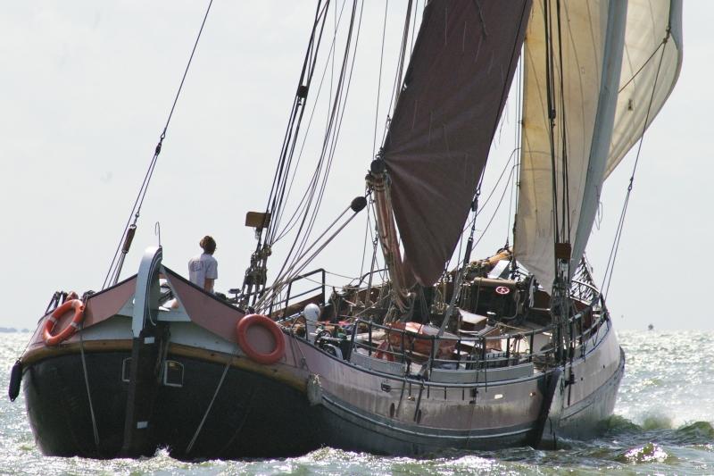 De Arend (met bemanning). Max. 15 gasten