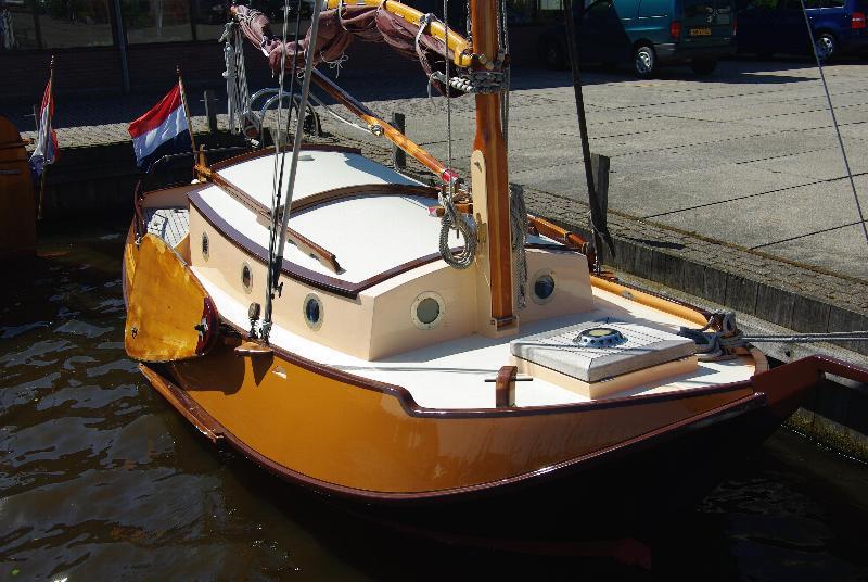 Grundel 6.65 mtr 'Verandering', 2 tot 5 personen vanuit Heeg / Friesland